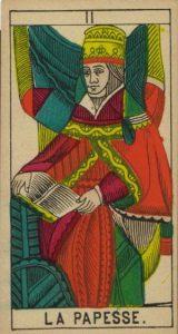 La Papesse / Tarot de l'amour de cet été