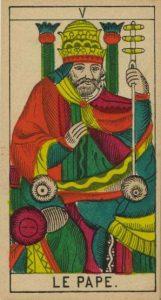 Le pape / Tarot amour été 2021