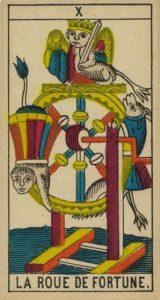 La roue de la fortune / Tarot amour été 2021