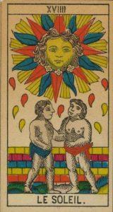 Le soleil / Tarot amour été 2021