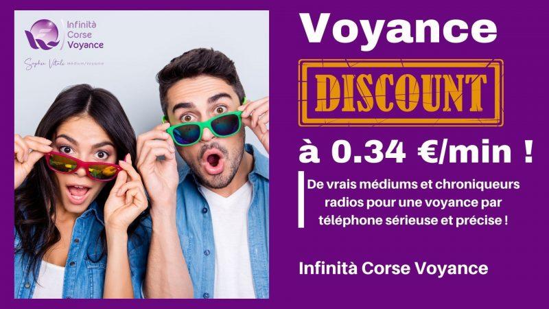Voyance discount par téléphone à 0.34 € la minute avec Sophie Vitali et ses médiums