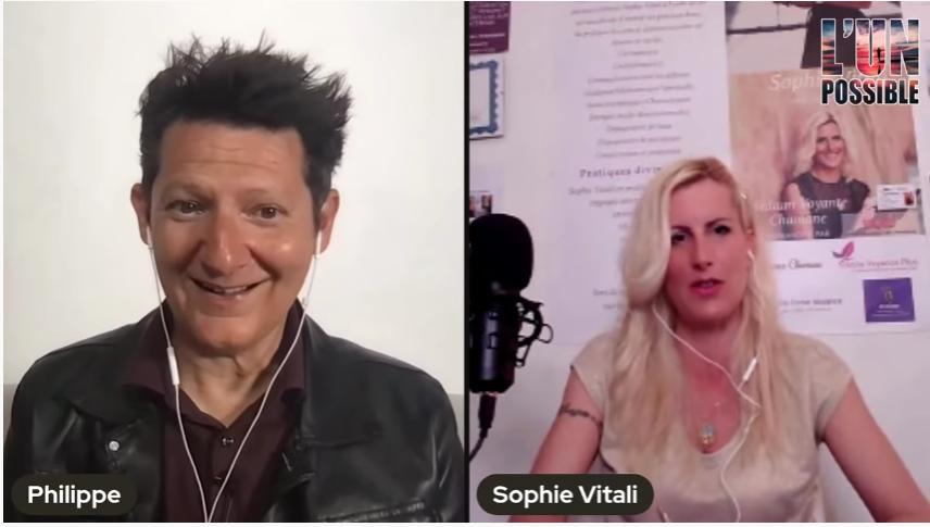 Sophie Vitali et Philippe Ferrer dans l'émission L'UN possible sur la chaine On ne vous demande pas d'y croire