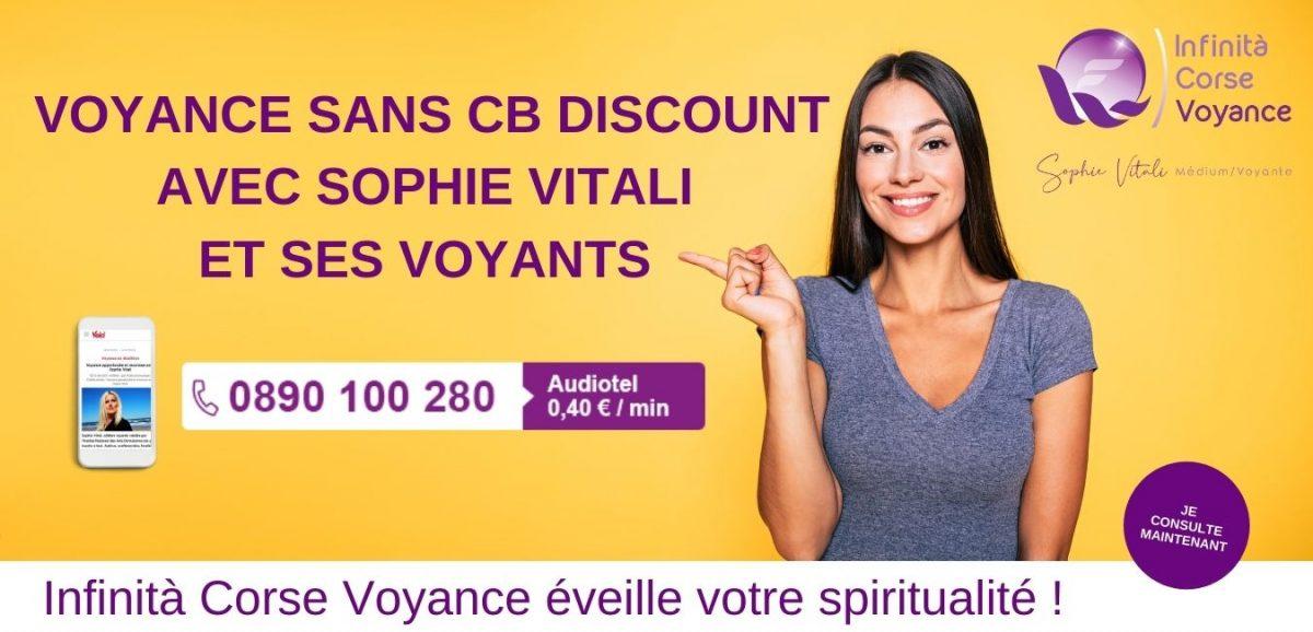 Voyance discount avec des médiums reconnus pour leur clairvoyance et leur clairaudience   Sophie Vitali