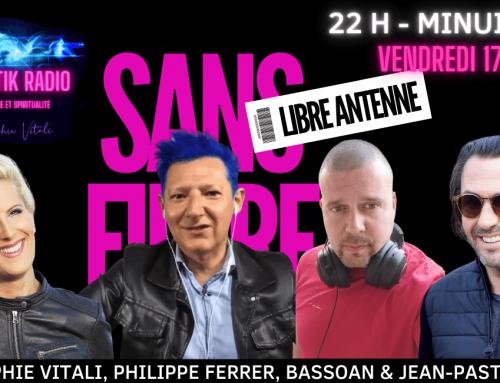 SANS FILTRE, l'émission avec Sophie Vitali, Philippe Ferrer, Bassoan et Jean Pastèque 17.09.2021