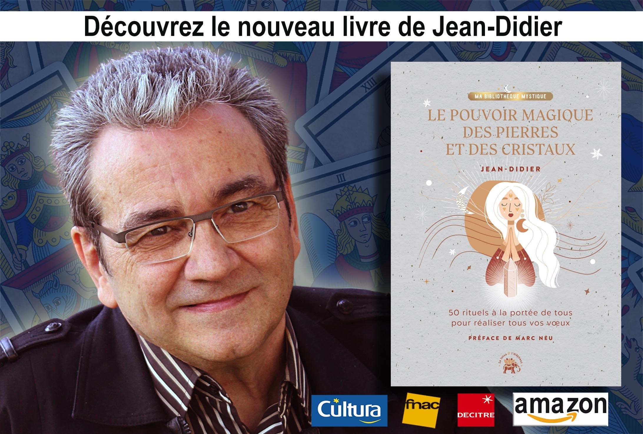 Jean-Didier nous parle de son nouveau livre : Le pouvoir magique des pierres et des cristaux dans le magazine Infinità de Sophie Vitali