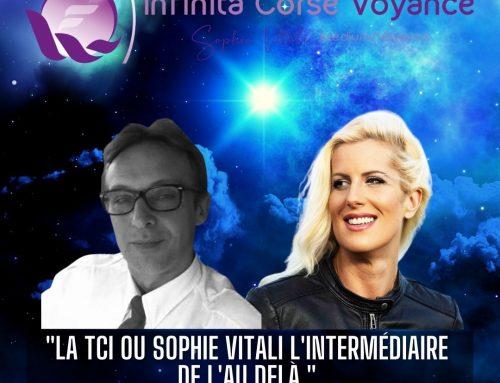 """""""La TCI ou Sophie Vitali l'intermédiaire de l'au-delà"""" par Olivier Bernard & Sophie Vitali"""