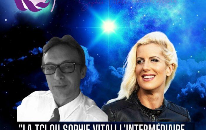 """""""La TCI ou Sophie Vitali l'intermédiaire de l'au delà """" par Olivier Bernard & Sophie Vitali"""