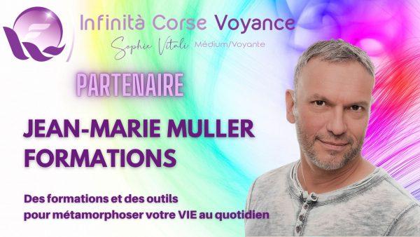 Jean-Marie Muller Formations en partenariat avec Sophie Vitali et Infinità Corse Voyance
