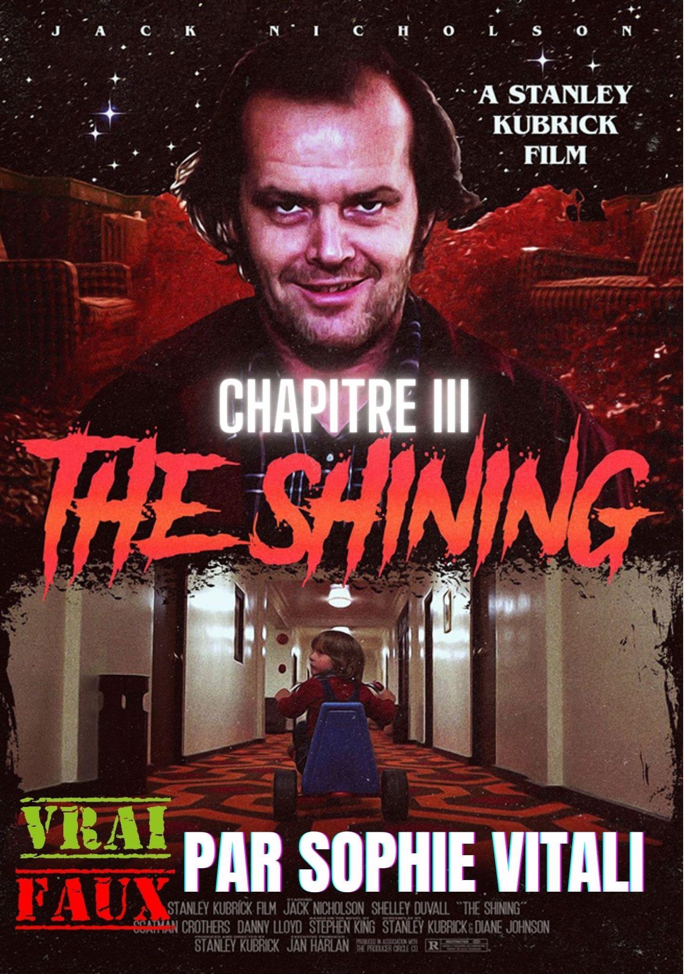 Le film d'horreur : The Shining, sa véritable histoire par Sophie Vitali médium et parapsychologue.
